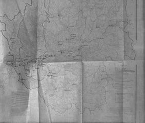 1950 / Карты Чувашинского сельского совета, Кемеровскойобласти