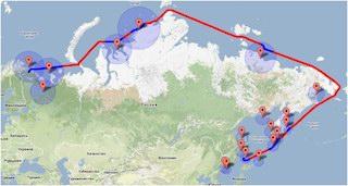 2017.09 Прогноз объемов транспортировки по Северному Морскому Пути добываемого в Арктической зоне сырья на период до 2030года