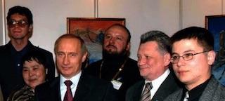 2004 Путин и камчадалы(фото)